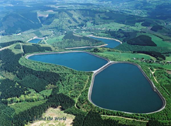 Waterkrachtenergie Coo Trois Ponts Hydroelectric Power